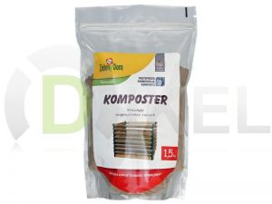 KOMPOSTER, BAKTERIE, NAWÓZ DO KOMPOSTU 1,5 KG FV