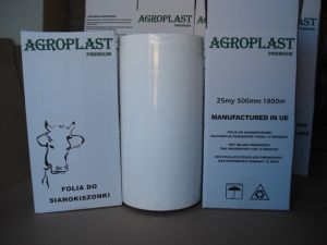 AGROPLAST - Folia do belowania - Sianokiszonka